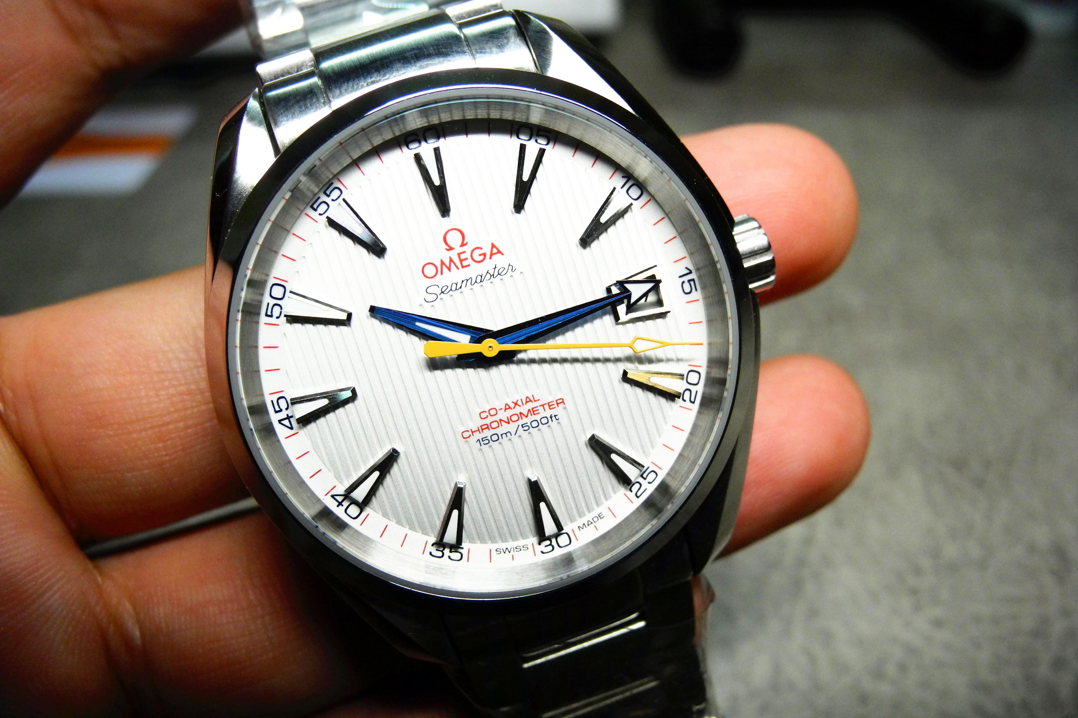 Omega Aqua Terra 150M White Dial