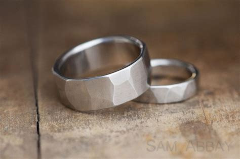 Hammered Bands ? New York Wedding Ring