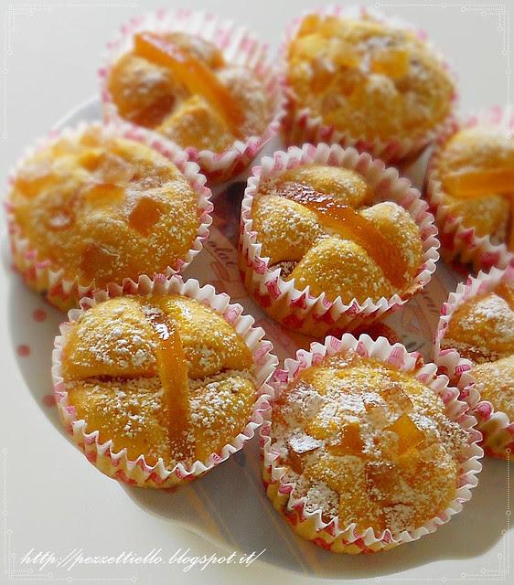 tortini Cupcakes di carote e cioccolato