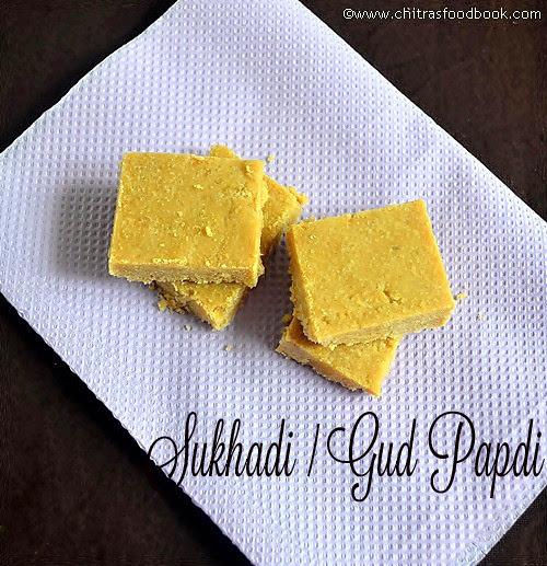 Sukhdi/Gud Papdi Recipe