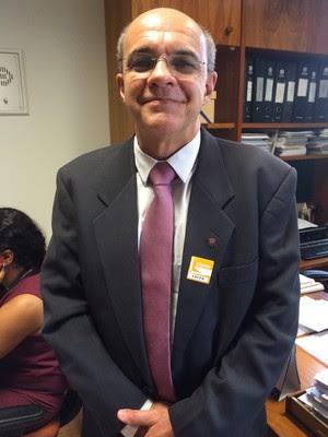 Eduardo Bandeira de Mello, presidente do Flamengo (Foto: Fabrício Marques)