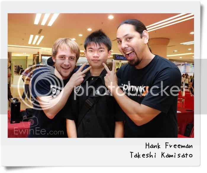 HankFreemanTakeshiKamisatoinMalaysi