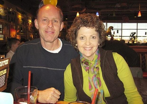 James Knight com sua mulher  (Foto: Reprodução)