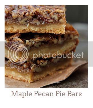 """Maple Pecan Pie Bars"""