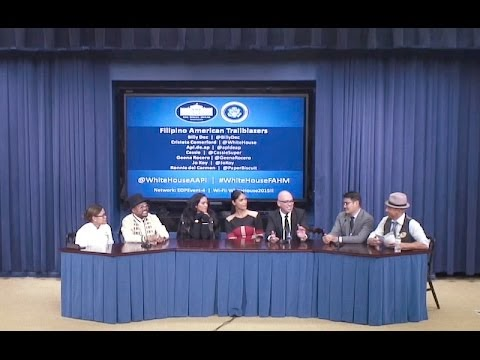 White House Celebrates Filipino American History Month - 2015
