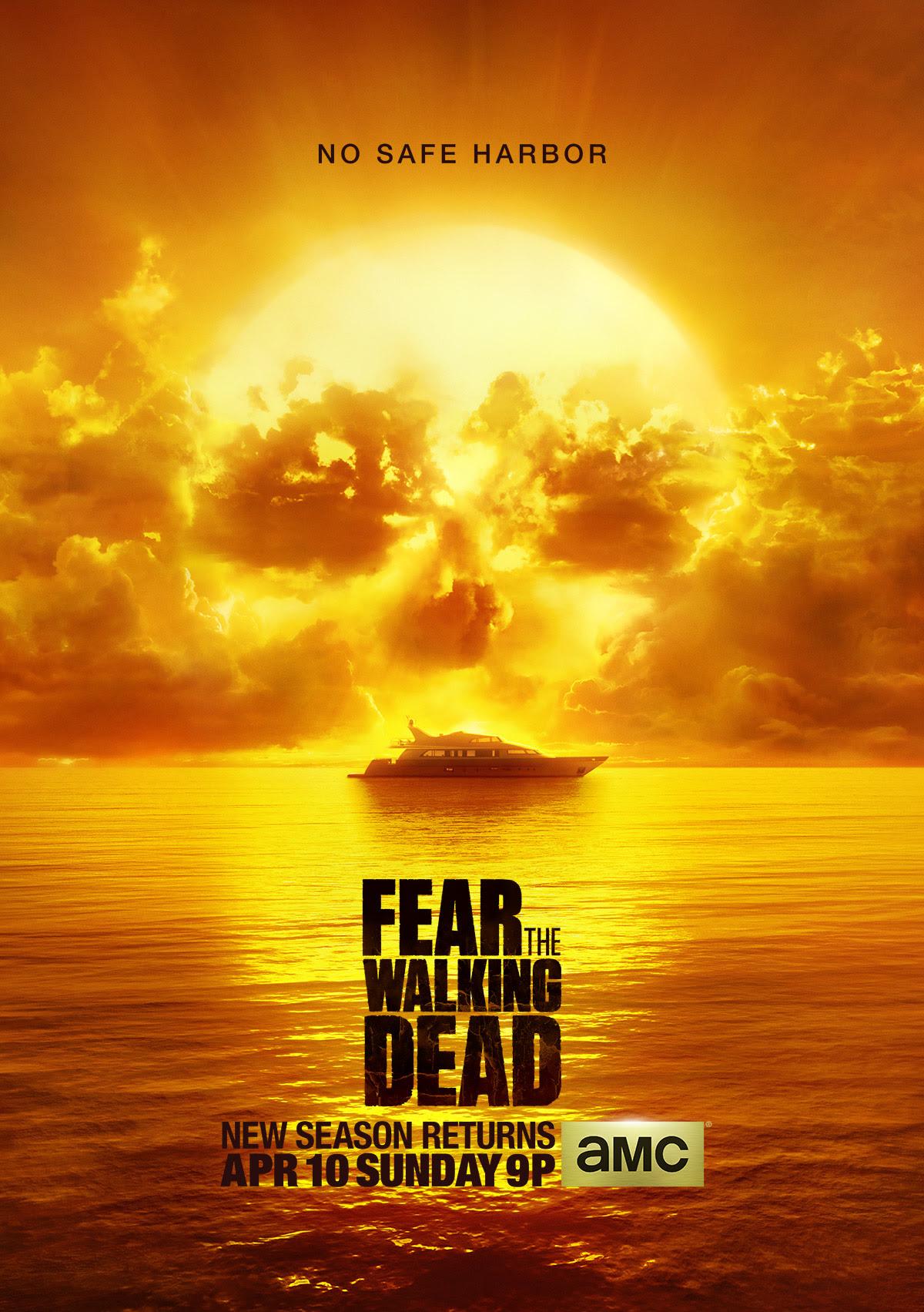Resultado de imagem para Fear The Walking Dead season 2 posters