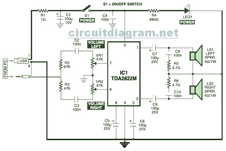 Speaker Network Circuit - Circuit Diagram Images on circuit diagram, usb splitter diagram, usb wire schematic, usb cable, usb motherboard diagram, usb strip, usb color diagram, usb socket diagram, usb block diagram, usb charging diagram, usb pinout, usb wire connections, usb outlets diagram, usb controller diagram, usb switch, usb outlet adapter, usb connectors diagram, usb computer diagram, usb soldering diagram, usb schematic diagram,