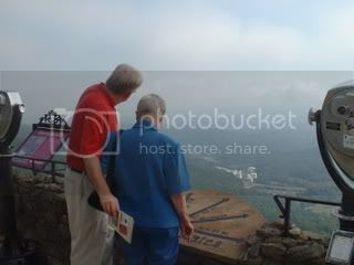 Grandma on Lookout Mountain