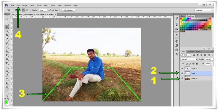 فوتوشوب مي 3d يطفو على السطح صورة كايس باناي 3
