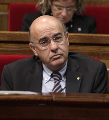Boi Ruiz, conseller de Salut.