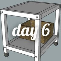 DIY Nightstand Day 6