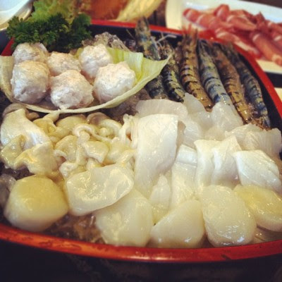 #seafood platter. #food  (Taken with instagram)