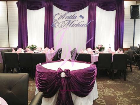 #Purple #Decoration for #Weddings   Joyce Wedding Services