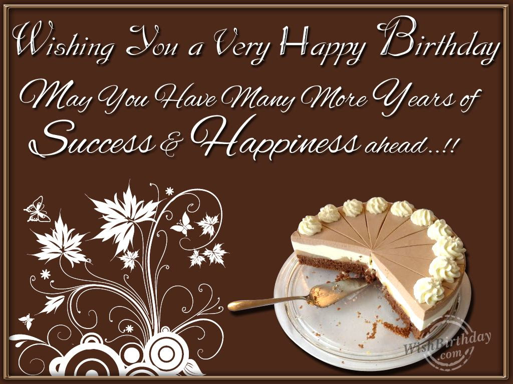 67 Birthday Wishes Quotes For Managing Director Birthday For