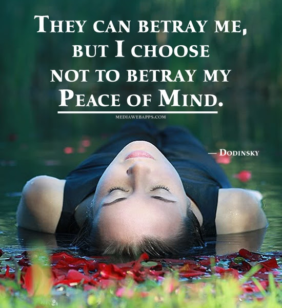 Funny Peace Of Mind Quotes Quote On Peace Of Mind Daily Quotes