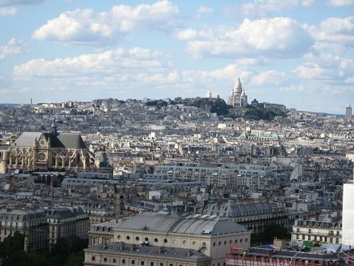 El Sacre Coeur visto desde Notre Dame