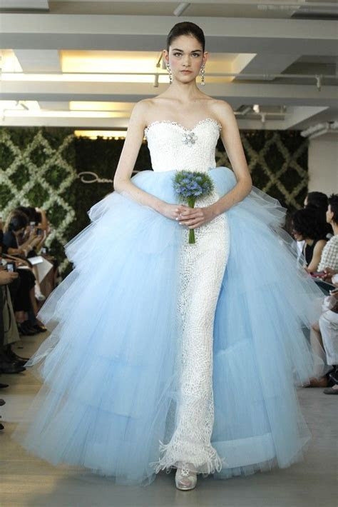 Spring 2013 Bridal Trend: Two Tone Dresses   OneWed