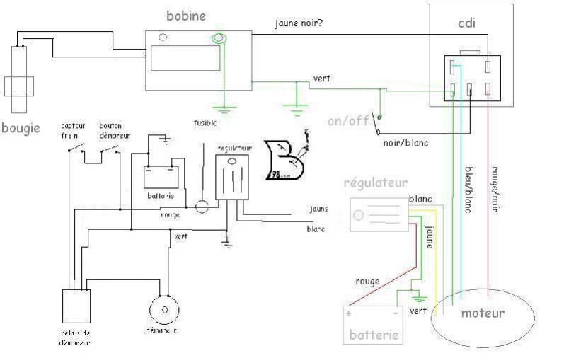 Locations de vehicule voitures schema electrique quad chinois 125 - Branchement coupe circuit moto ...