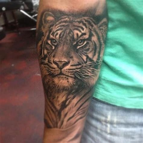 follow   pinterest melanin tiger tattoo tiger