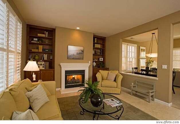 half wall model home   Kitchen Designs   Pinterest
