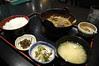 もつ味噌煮込み定食, もつ鍋 叶, 博多