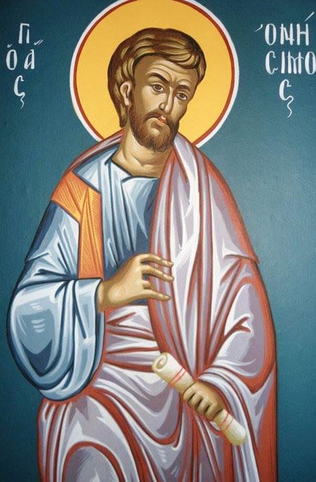 img ST. ONESIMUS Apostle of the Seventy