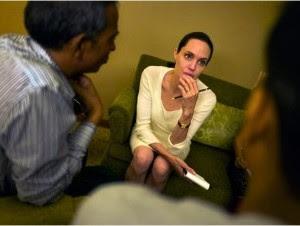 Actriz Angelina Jolie.
