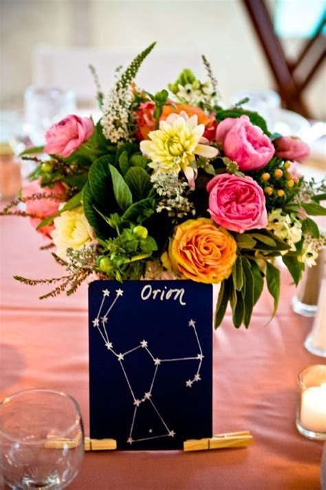 28 best images about Moon and stars wedding seating plans