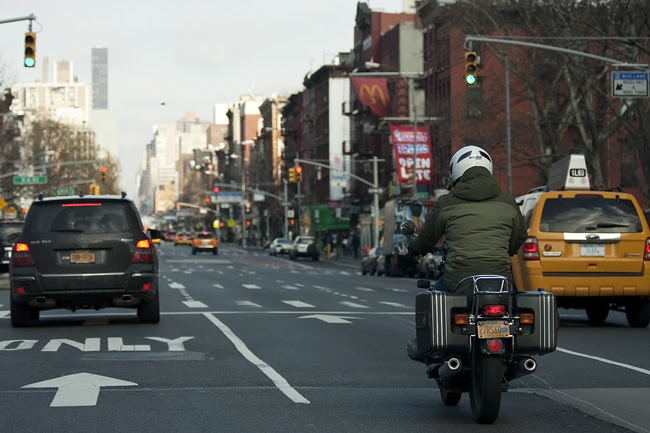 Heading Downtown, nyc