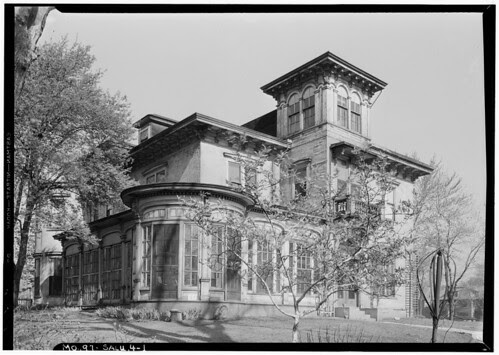 Blossom House HABS 1933
