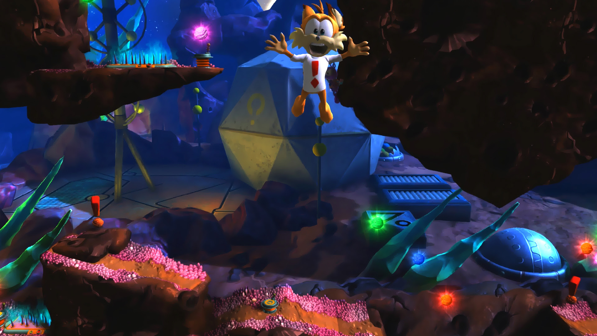 This year *would* give us a new Bubsy game, wouldn't it? screenshot