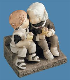 Pretty As A Picture Our Love Is Delicious Figurine Fitzulas Gift Shop