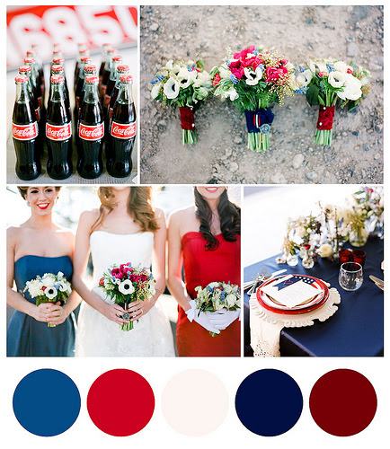 Red White And Blue 4th Of July Chattanooga Wedding Edition Cue