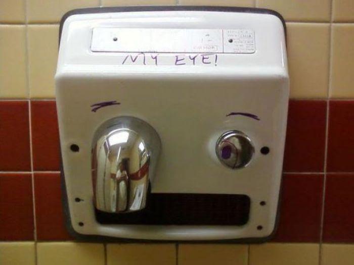 ¡Ay, mi ojo!