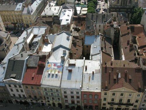 Расписные крыши Львова