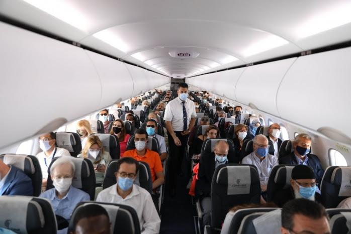 Doar 44 de cazuri de transmitere a Covid la bordul avioanelor dintr-un 1 miliard de călători