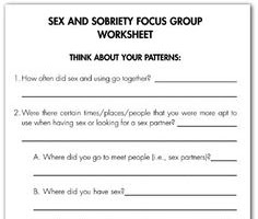 Image result for relapse prevention plan worksheets Recovery Pinterest