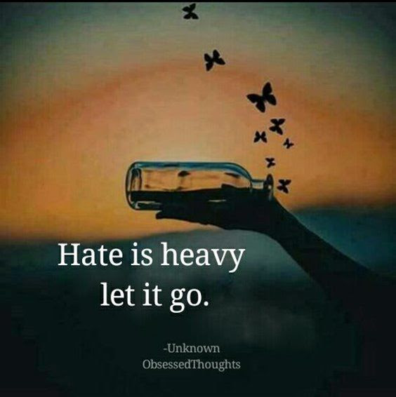 Hate Is Heavy Let It Go Pictures Photos And Images For Facebook