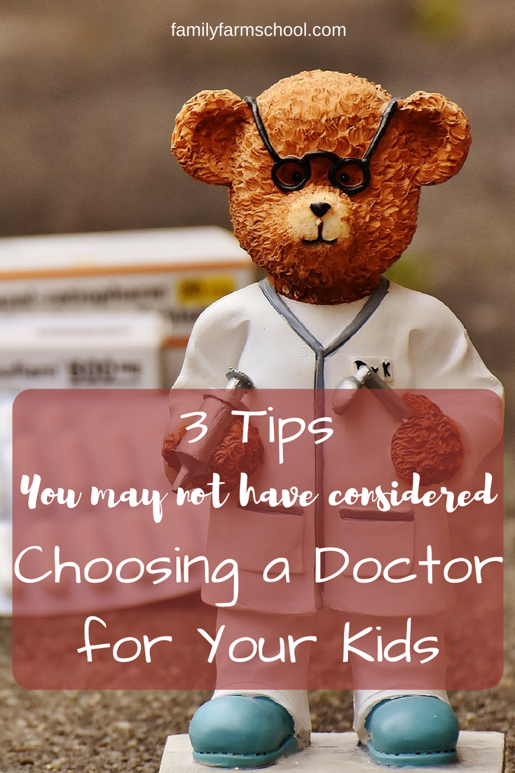 Choosing a doctor for your kids