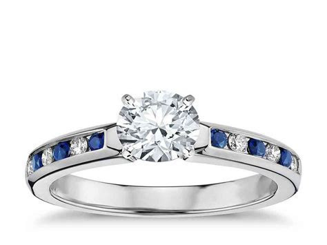 Why Choose Diamond and Sapphire Engagement Rings
