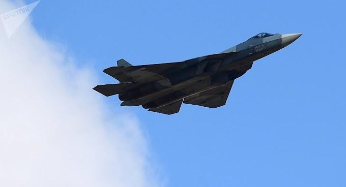 Rússia inicia a produção em série do caça de 5ª geração Su-57