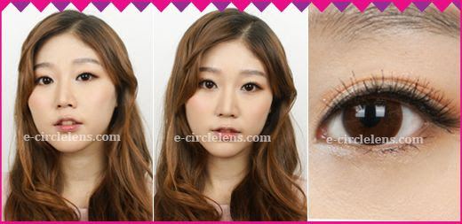 Eyevelyn Brown Contacts at www.e-circlelens.com