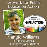 Vangie Williams for Virginia's 1st Congressional District