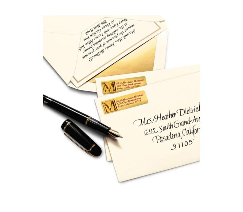 Amazon.com : Avery Silver Foil Mailing Labels for Inkjet Printers ...