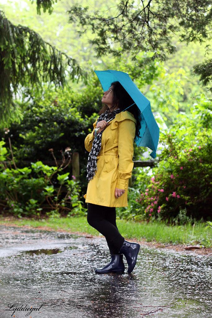 Raining, pouring