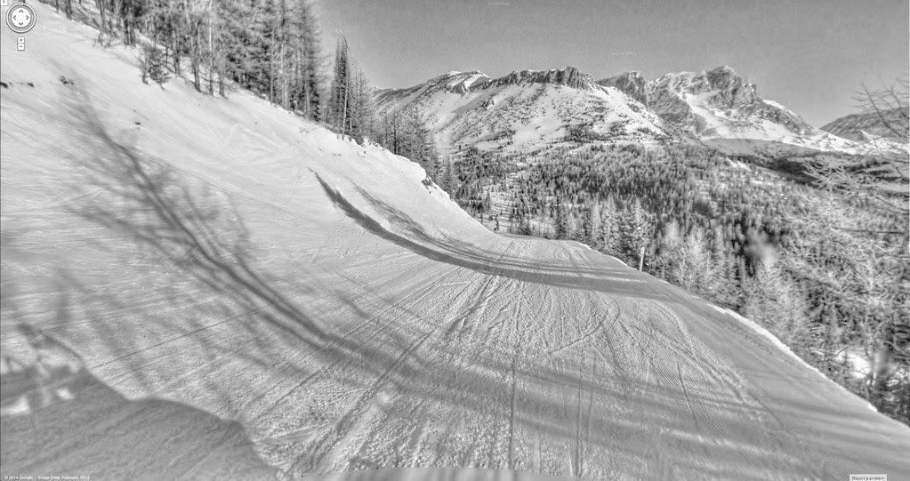 Google Street View - Pan-American Trek - Google Ski View!