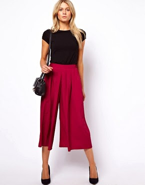 Image 1 of ASOS Soft Culottes