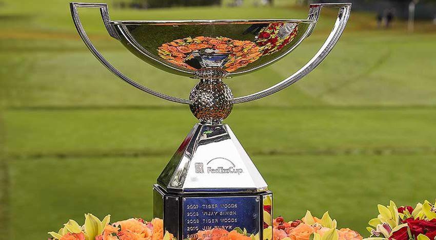 FedExCup trophy