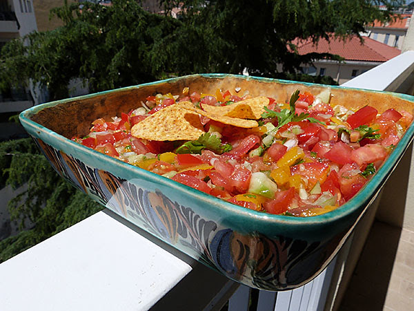 pico de  gallo plat mexicain
