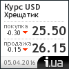 Хрещатик курс доллара